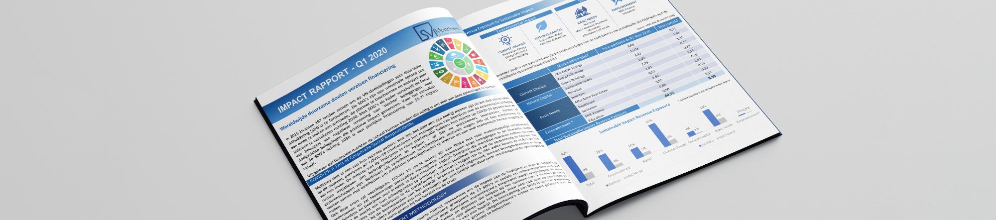 Impact report bewust beleggen